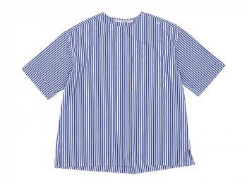Charpentier de Vaisseau Sophie Shoulder Button Short Sleeve Shirts