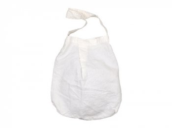 Lin francais d'antan Daudet(ドーデ) Canapa Bag WHITE