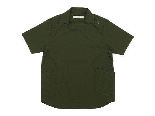 nisica 半袖デッキマンシャツ オックス OLIVE