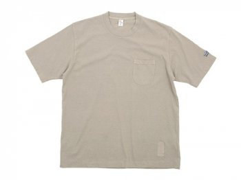 ENDS and MEANS Standard Pocket Tee OATMEAL