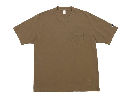 ENDS and MEANS Standard Pocket Tee BEIGE