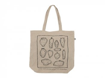 ENDS and MEANS Choose Tote Bag NATURAL