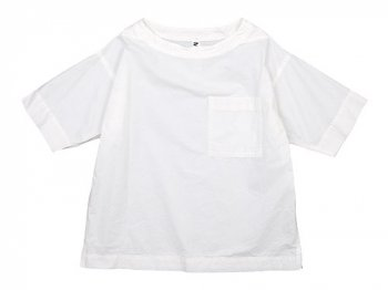 MHL. PAPER COTTON T-SHIRTS 030WHITE 〔レディース〕