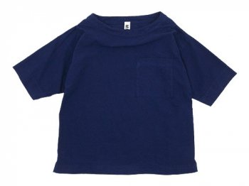 MHL. PAPER COTTON T-SHIRTS 115BLUE 〔レディース〕