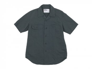 MHL. COTTON LINEN DRILL S/S SHIRTS 〔メンズ〕