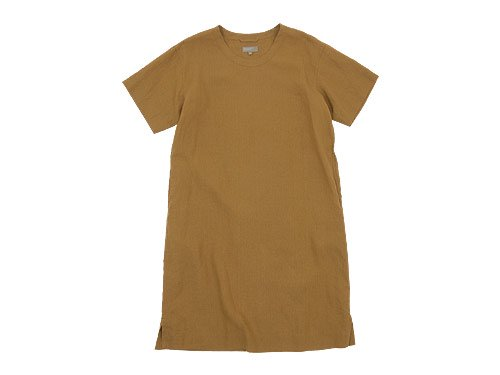 MARGARET HOWELL SHIRTING LINEN III ONE-PIECE 051MUSTARD 〔レディース〕