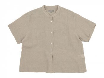 MARGARET HOWELL SOFT LINEN S/S SHIRTS 042BEIGE 〔レディース〕