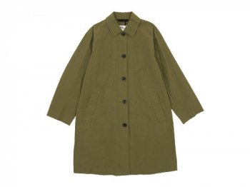 MHL. WASHED COTTON POPLIN COAT 181ARMY GREEN 〔レディース〕