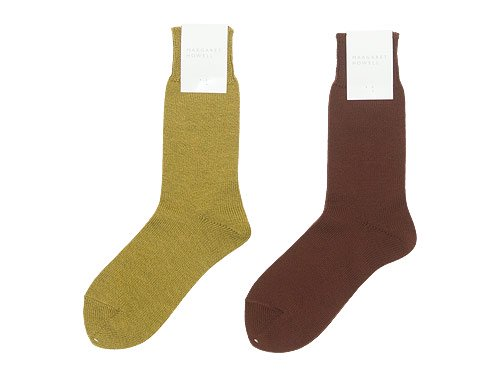MARGARET HOWELL COTTON WOOL SOCKS 〔レディース〕