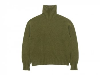 MARGARET HOWELL WOOL CASHMERE HIGH NECK KNIT 〔レディース〕