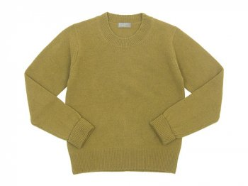 MARGARET HOWELL WOOL CASHMERE JUMPER KNIT 060PEAR〔レディース〕