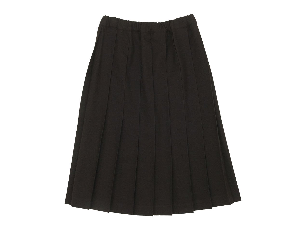Charpentier de Vaisseau Belle Pleated Skirt Wool BROWN