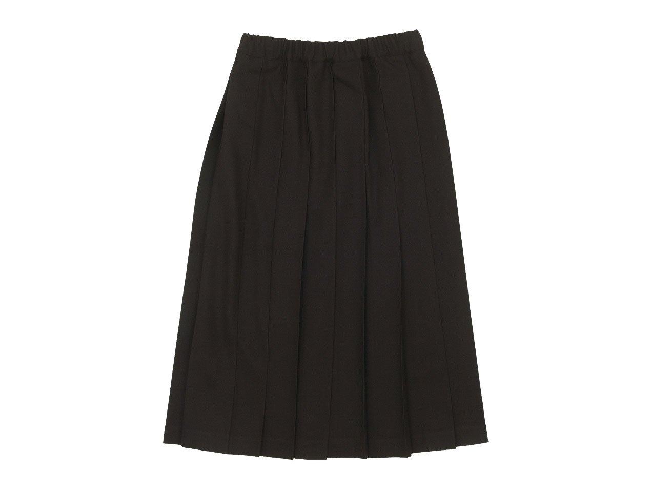 Charpentier de Vaisseau Brisa プリーツスカート Long Wool BROWN