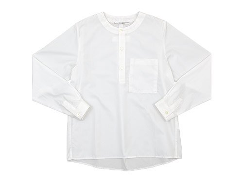Charpentier de Vaisseau Sally Henry Neck Shirts WHITE