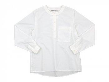 Charpentier de Vaisseau Sally Henry Neck Shirts WHITE