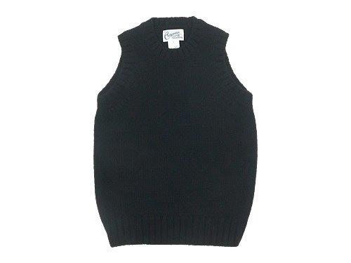 Charpentier de Vaisseau Kurson 3G Crew Neck Knit Vest BLACK