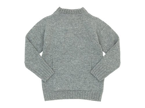 Charpentier de Vaisseau Kurt 3G Horizontal Neck Knit GRAY