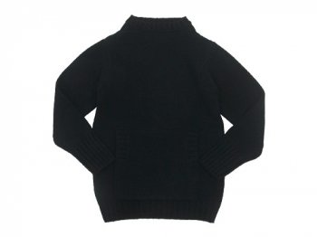Charpentier de Vaisseau Kurt 3G Horizontal Neck Knit BLACK