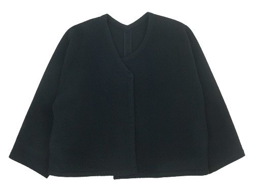 Lin francais d'antan Rodin(ロダン) Wool Jacket BLACK