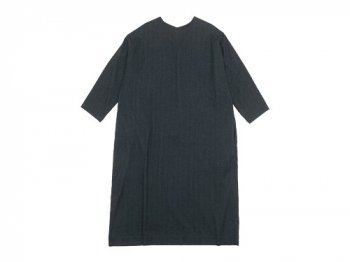 Lin francais d'antan Calder(カルダー) crew neck one-piece
