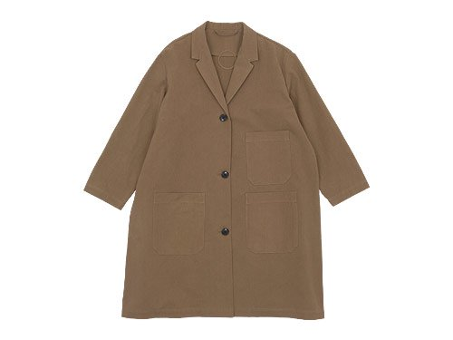 Lin francais d'antan Godard(ゴダール) Cotton Coat KHAKI
