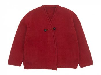 Lin francais d'antan Degas(ドガ) Wool Cashmere Knit Cardigan RED
