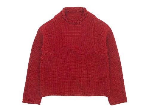 Lin francais d'antan Mullan(マラン) Wool Cashmere Knit RED