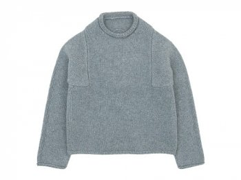 Atelier d'antan Mullan(マラン) Wool Cashmere Knit GRAY