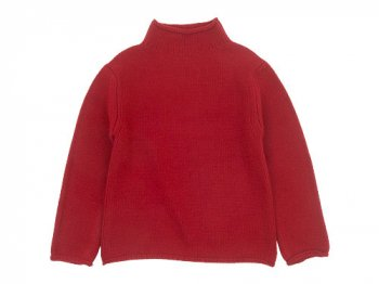 Lin francais d'antan Kubin(クービン) Wool Cashmere Turtle Knit RED