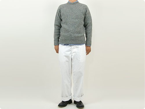 EEL ノルディックセーター 15GRAY