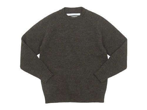 EEL ノルディックセーター 36BROWN