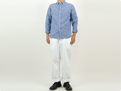 TUKI field trousers 00WHITE