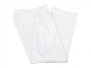 TUKI field trousers 00WHITE