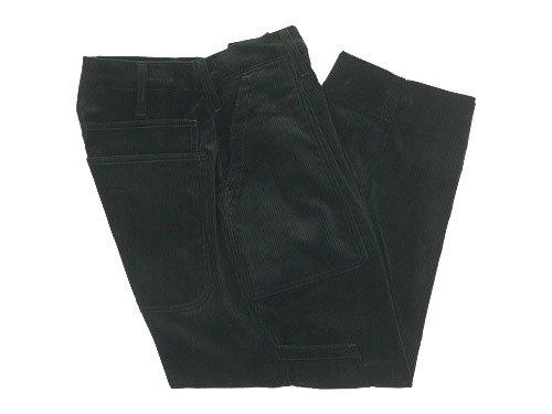 TUKI combat pants corduroy 27MOSS GREEN