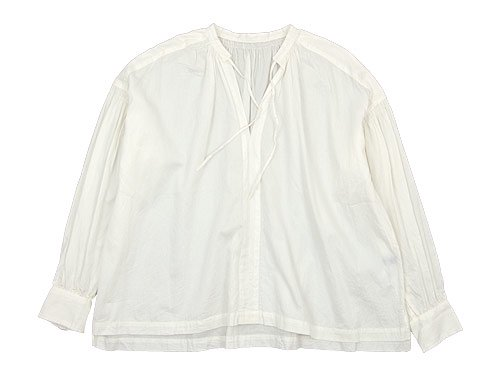 ordinary fits FLORIST BLOUSE OFF WHITE