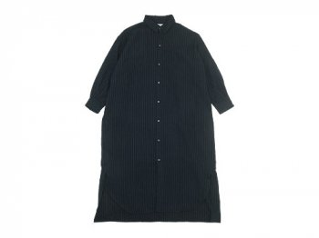 ordinary fits EDWARD ONEPIECE WOOL DARK NAVY STRIPE