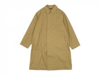 maillot mature cotton over coat KHAKI BEIGE
