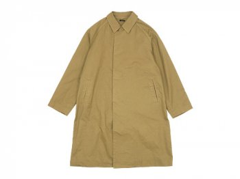 maillot mature cotton over coat KHAKI BEIGE