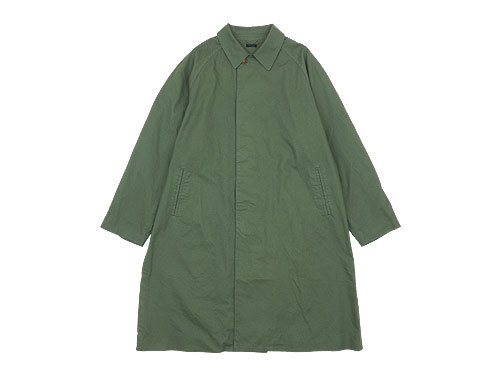 maillot mature cotton over coat OLIVE