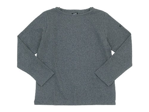 maillot mature wool weekend Tee DARK GRAY