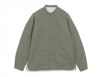 ENDS and MEANS Puff Shirts Jacket LIGHT KHAKI
