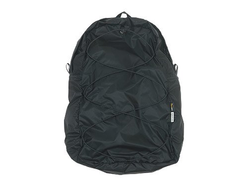 ENDS and MEANS Packable Trip Backpack BLACK