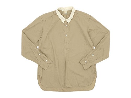 TATAMIZE P/O SHIRTS RELAX BEIGE