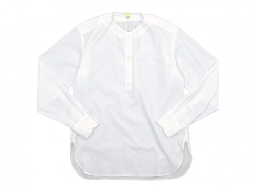 TATAMIZE NO COLLAR SHIRTS WHITE