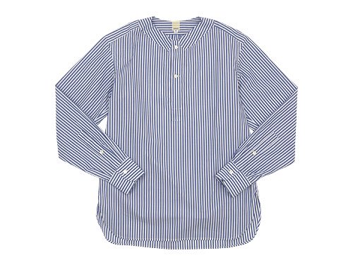 TATAMIZE NO COLLAR SHIRTS STRIPE