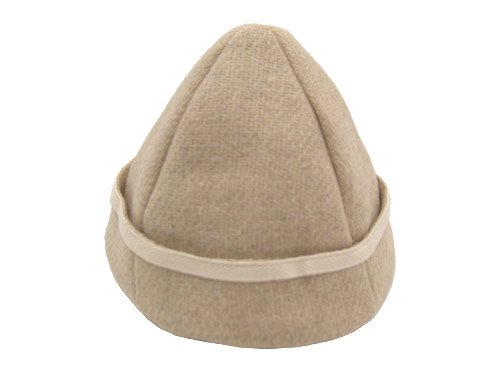 TATAMIZE BOWL CAP ECRU WOOL