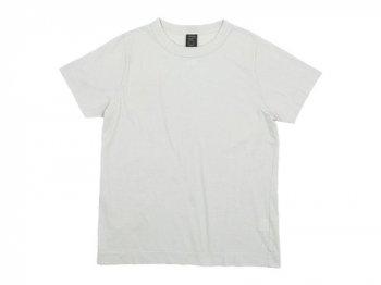 homspun 天竺半袖Tシャツ ライトグレー 〔メンズ〕 【6272】