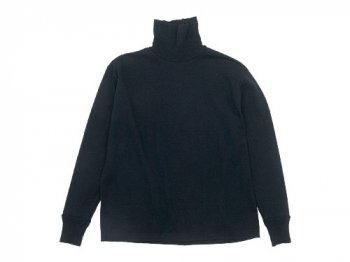 TOUJOURS Turtle Neck Pullover HEATHER BLACK 【LM29XC07】