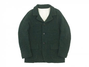 nisica ウールジャケット GREEN