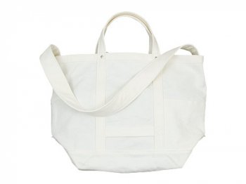 YAECA ツールバッグ LARGE cotton WHITE